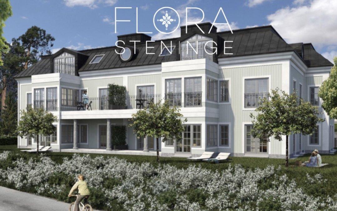 Bygglov klart för Flora Steninge i TUN1
